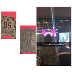 Vianly R. verified customer review of BTS Members Names Jacket (2 FOR 1 SPECIAL)
