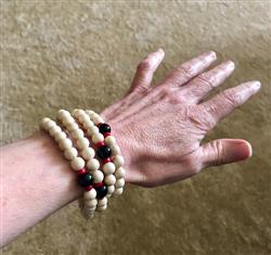 Dovey M. verified customer review of Sathya 108 Bead Bracelet