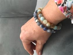 Stef B. verified customer review of Surenya Mala Bracelet