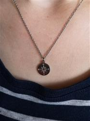 Isabel P. verified customer review of PURELEI 'compass' necklace