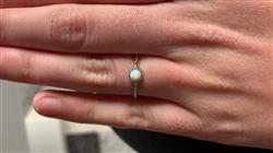 Jasmin U. verified customer review of PURELEI 'opal' ring