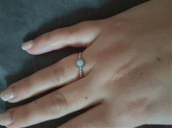 Lucienne L. verified customer review of PURELEI 'opal' ring