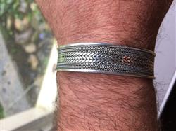 Thomas S. verified customer review of Elegant Cuff
