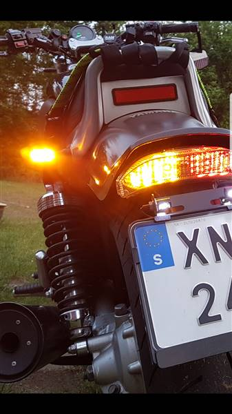 Anders V. verified customer review of 2013-2018 Honda CBR-600RR Blaster-X Integrated LED Tail Light
