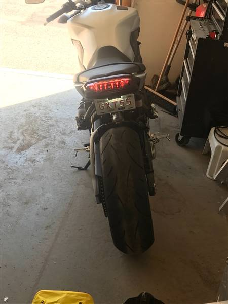 Jeff F. verified customer review of 2014-2016 Yamaha FZ-09 Blaster-X Integrated LED Tail Light