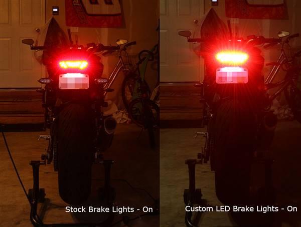 Jason H. verified customer review of 2017 Yamaha FZ-10 Blaster-X Integrated LED Tail Light