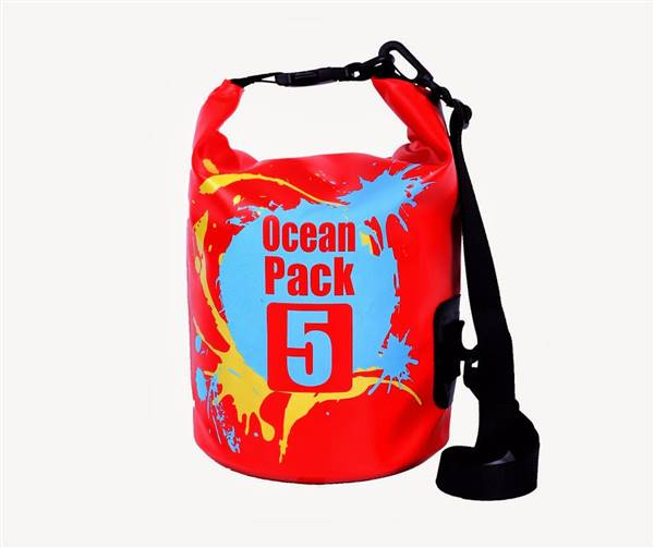 Brian A verified customer review of Karana Ocean Pack Waterproof Dry Tube Bag 5 Litres *Splash Edition*