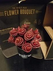 Melissa P. verified customer review of Beef Jerky Rose Bouquet - Black Steel Edition