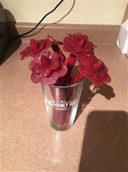 Samantha P. verified customer review of Beef Jerky Flower Bouquet