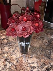 Danielle H. verified customer review of Beef Jerky Flower Bouquet