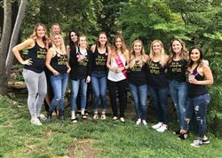 Brittany K. verified customer review of He popped the question Shirts , bachelorette party shirts, cheap, 115