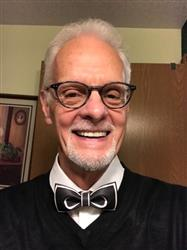 Ronald B. verified customer review of Black on White Bow Tie