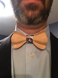 Steven C. verified customer review of Colorful Wooden Bow Tie