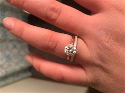 Payton S. verified customer review of The Promise - Rose Gold