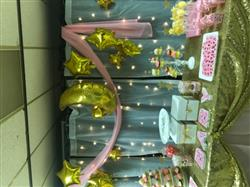 Emarillis S. verified customer review of 9'' Gold Star Foil Balloon, air-fill