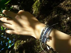 Noémie R. verified customer review of Dream Catcher - Blue, Mint, and White