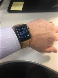 Bryan S. verified customer review of Vintage Leather Apple Watch Bands