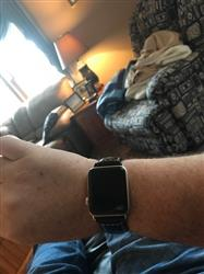 James B. verified customer review of Vintage Leather Apple Watch Bands
