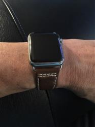 Robyn W. verified customer review of Vintage Leather Apple Watch Bands