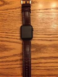 Melanie C. verified customer review of Vintage Leather Apple Watch Bands