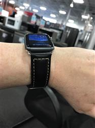 Howard H. verified customer review of Vintage Leather Apple Watch Bands