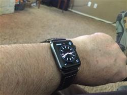 Philip C. verified customer review of Vintage Leather Apple Watch Bands
