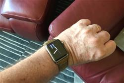 Bill C. verified customer review of Vintage Leather Apple Watch Bands
