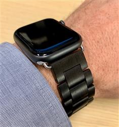MARTIN D. verified customer review of Natural Wood Apple Watch Bands