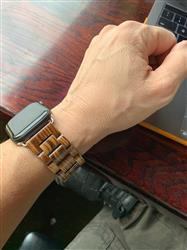 Neil Z. verified customer review of Natural Wood Apple Watch Bands
