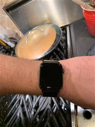 Miles W. verified customer review of Stainless Steel Apple Watch Bands