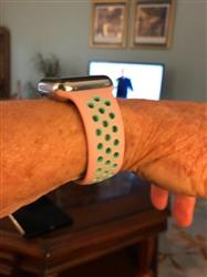 Shirley (. verified customer review of Active Silicone Apple Watch Bands