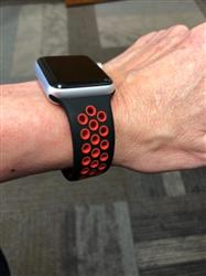 Carol E. verified customer review of Active Silicone Apple Watch Bands