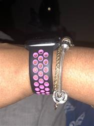 Tracey P Williams verified customer review of Active Silicone Apple Watch Bands