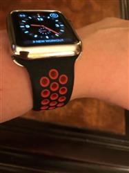Donna S. verified customer review of Active Silicone Apple Watch Bands