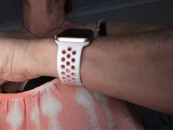 Janice H. verified customer review of Active Silicone Apple Watch Bands