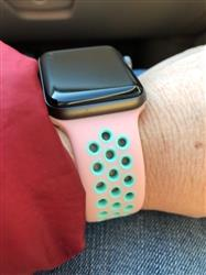 Heather M. verified customer review of Active Silicone Apple Watch Bands