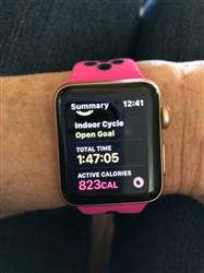 Kimberley P. verified customer review of Active Silicone Apple Watch Bands
