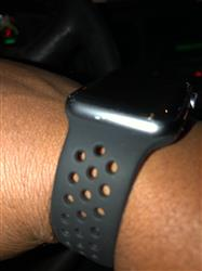 rodney j. verified customer review of Sport Silicone Apple Watch Bands