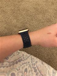 Danielle S. verified customer review of Sport Silicone Apple Watch Bands