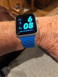 Roberta M. verified customer review of Sport Silicone Apple Watch Bands