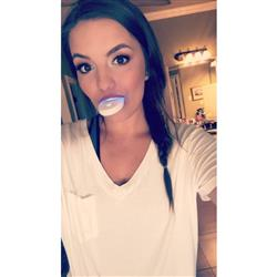 Monique R. verified customer review of BrightWhite Smile Teeth Whitening Kit