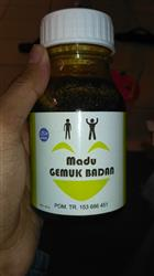 Hitam A. verified customer review of Madu Gemuk Badan - 350 gr