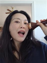 Helen W. verified customer review of Kansa Wand for Face & Body Plus FREE Kumkumadi Oil