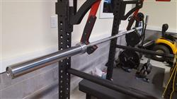 Peter B. verified customer review of CLOSEOUT - American Barbell Stainless Steel Gym Bar