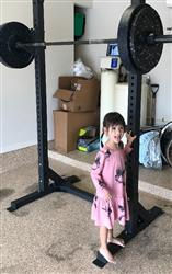 Jon A. verified customer review of American Barbell Pull-Up Squat Stand