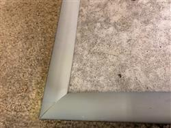 """David H. verified customer review of 1/4"""" Carpet to 1/8"""" Tile Reducer"""
