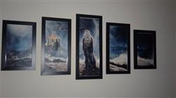 Kendall D. verified customer review of Game of Thrones Daenerys Targaryen - 5 piece canvas