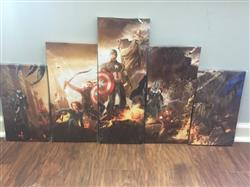 Brian S. verified customer review of The Avengers - 5 Piece Canvas Painting