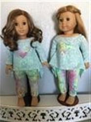 Twirly Tunic 18 Doll Clothes Pattern