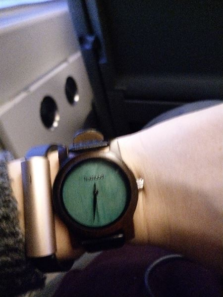 Emilie B. verified customer review of TruWood Leaf Green - 35mm